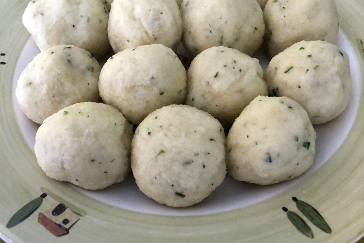 Runde Knepp, die berühmten kurpfälzer Kartoffelklöße