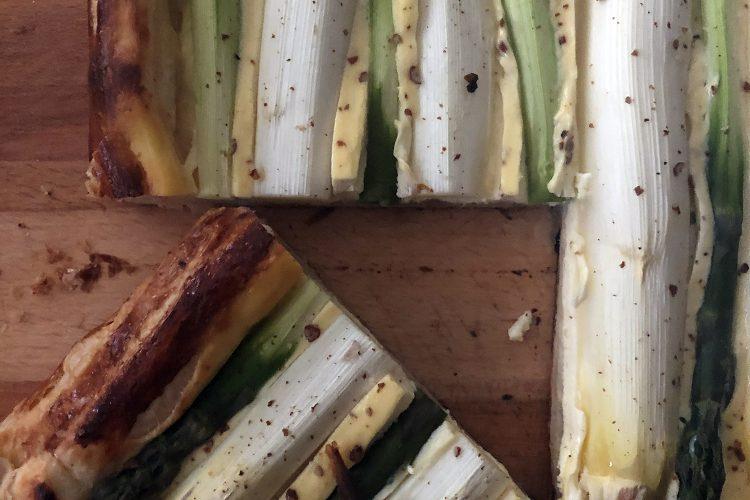 Spargeltarte mit Kampotpfeffer